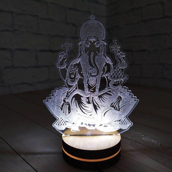 3Д светильник Ганеше 1