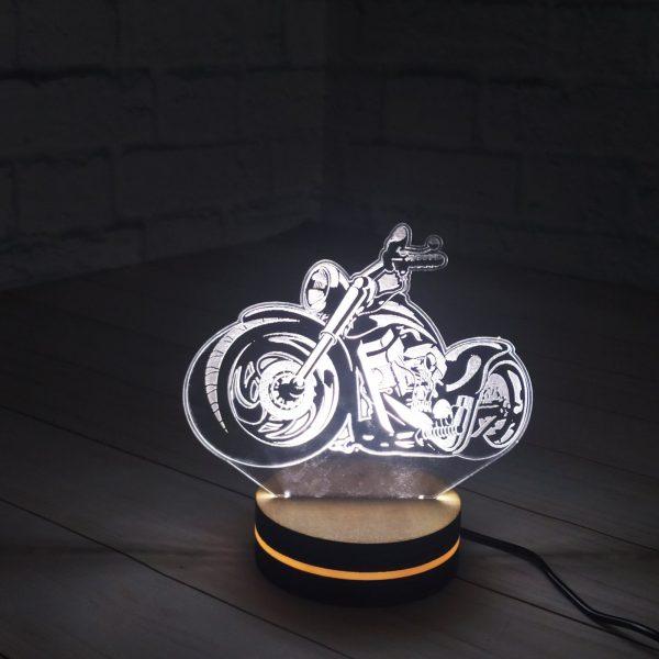 3Д светильник Мотоцикл