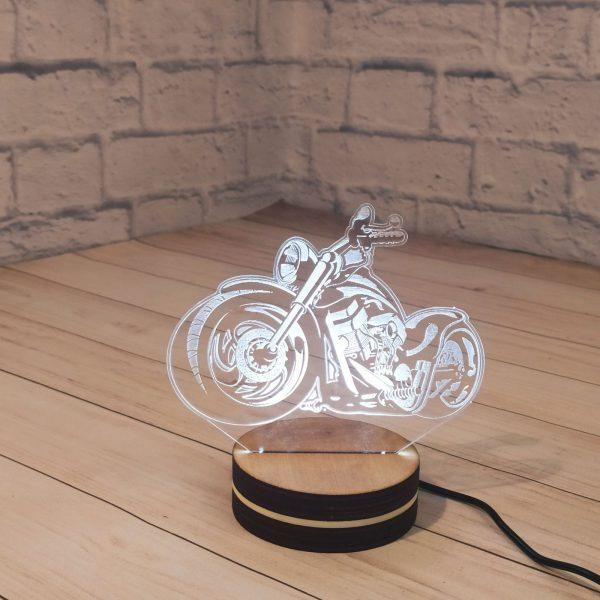 3Д светильник Мотоцикл 1