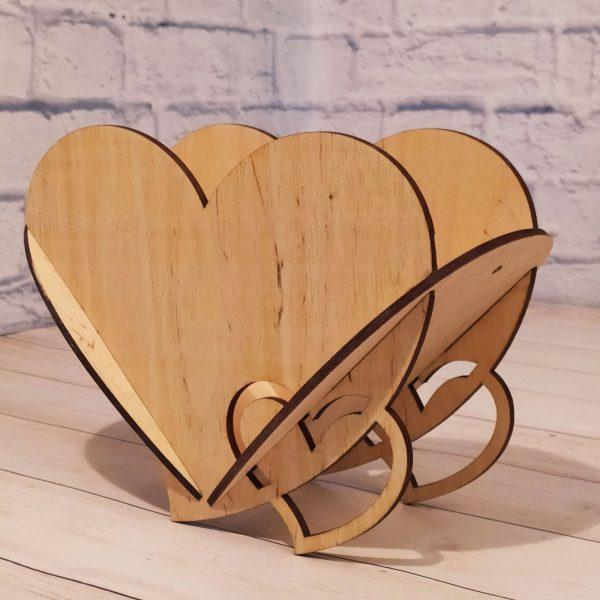 Декоративное кашпо Сердце