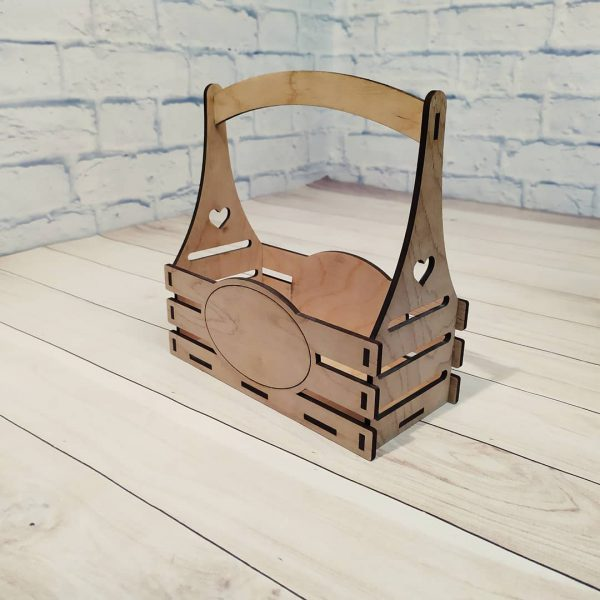 Декоративное кашпо под гравировку