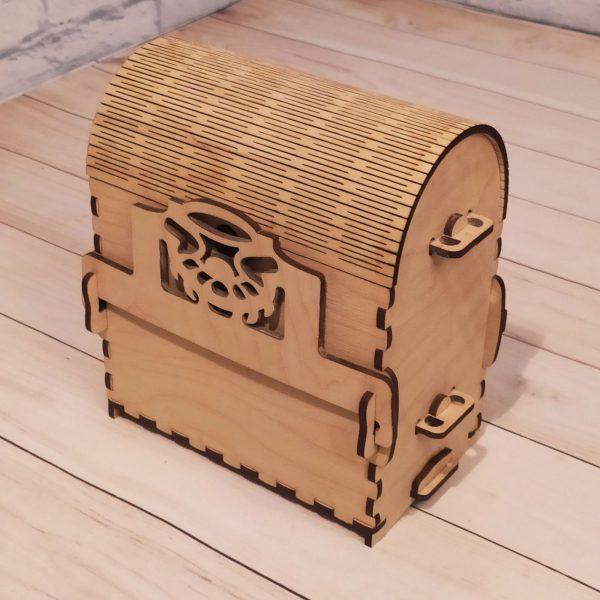 Подарочная коробка гравировкой Сундучок