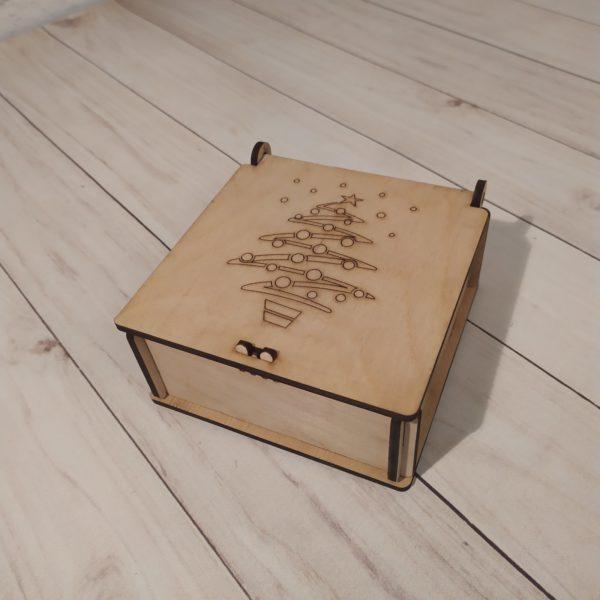 Подарочная коробка Елочка