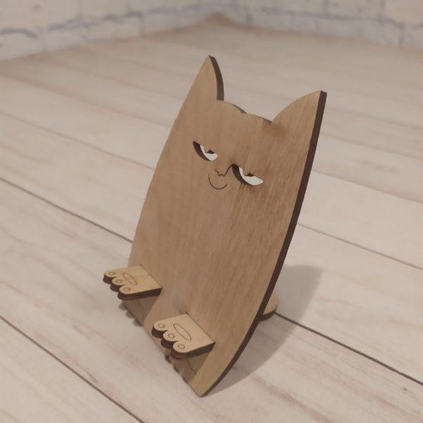 Подставка под телефон Добрый котик 1