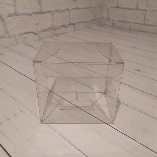 Прозрачная коробка 12х11х9 см.1