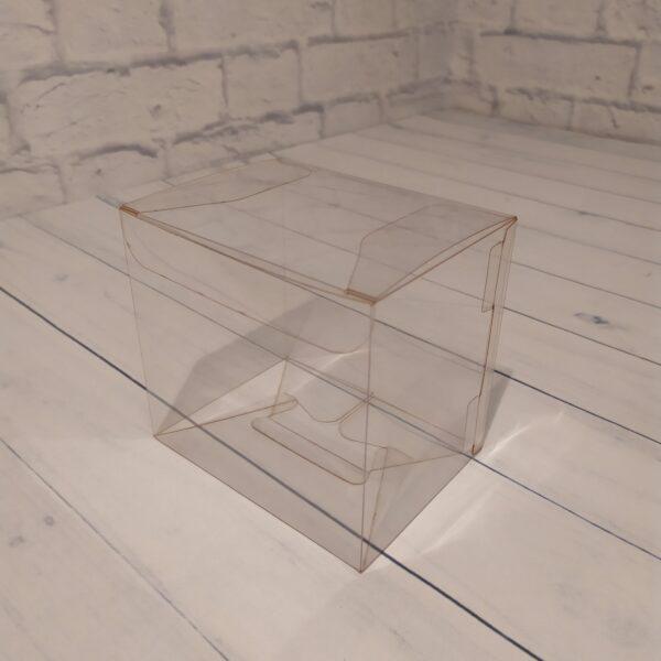 Прозрачная коробка 12х11х9 см.2