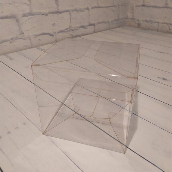 Прозрачная коробка 12х12х12 см.1