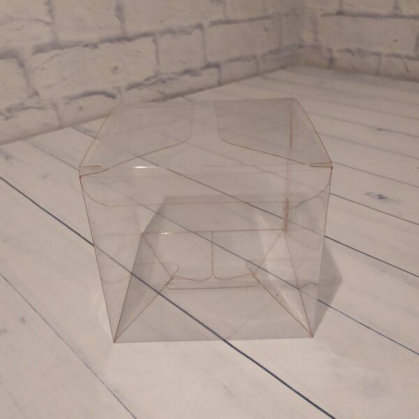 Прозрачная коробка 12х12х12 см.2