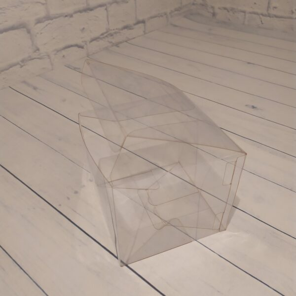 Прозрачная коробка 12х12х12 см.3
