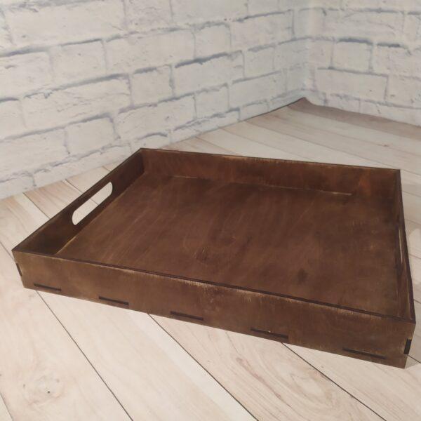 Поднос деревянный 1