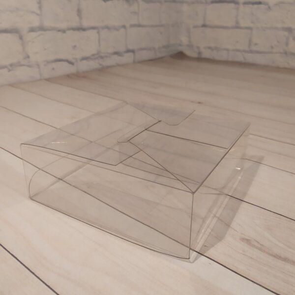 Прозрачная коробка 15х15х5 см 2