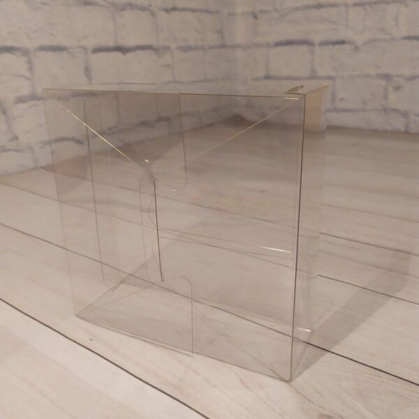 Прозрачная коробка 15х15х5 см 3