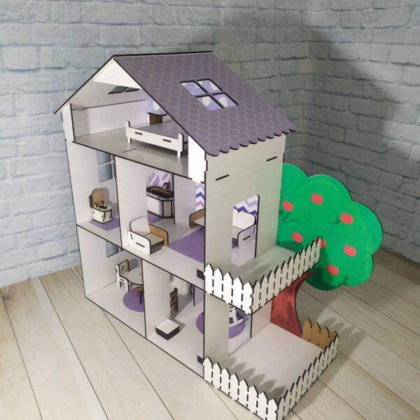 Кукольный домик Коттедж с мебелью Люкс 2