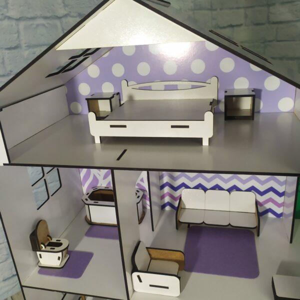 Кукольный домик Коттедж с мебелью Люкс 3