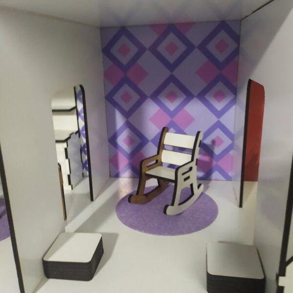 Кукольный домик Коттедж с мебелью Люкс 4