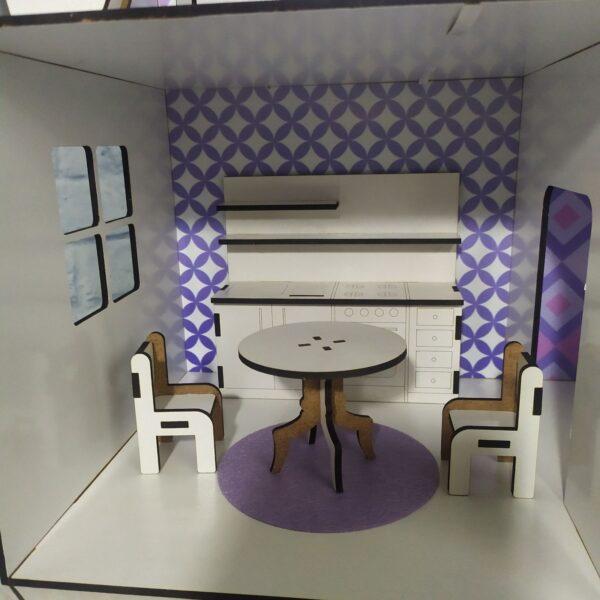 Кукольный домик Коттедж с мебелью Люкс 5