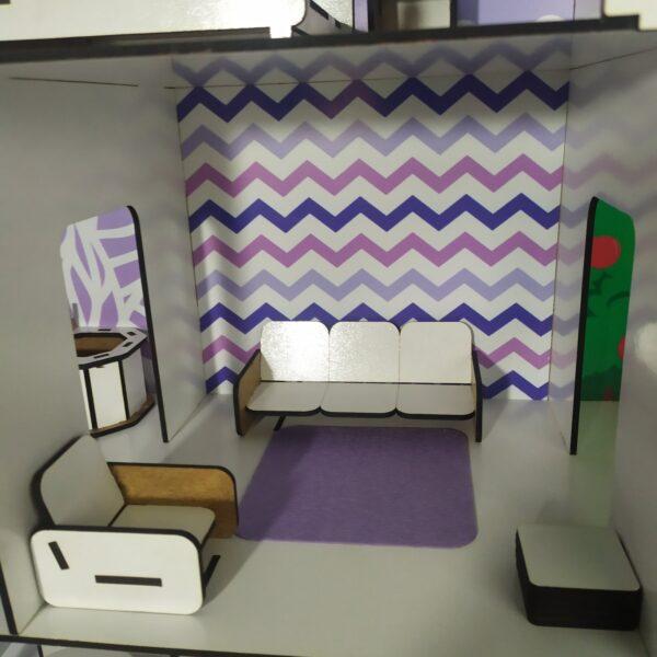 Кукольный домик Коттедж с мебелью Люкс 6