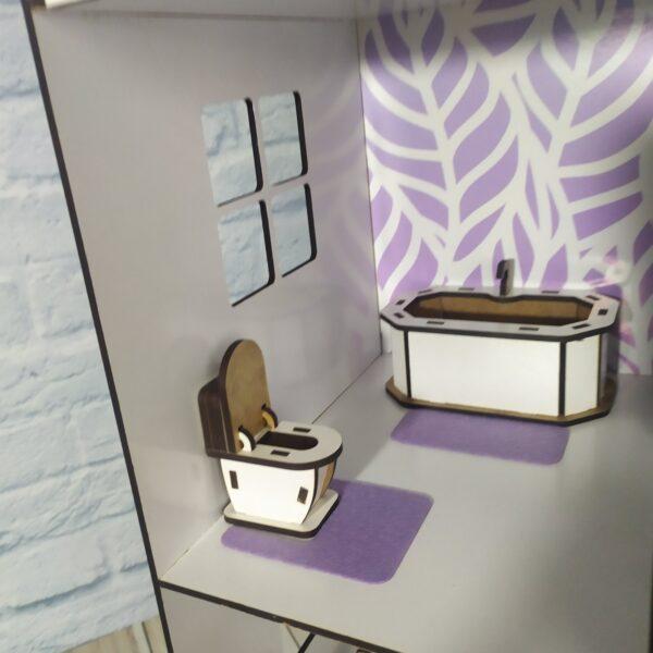 Кукольный домик Коттедж с мебелью Люкс 7