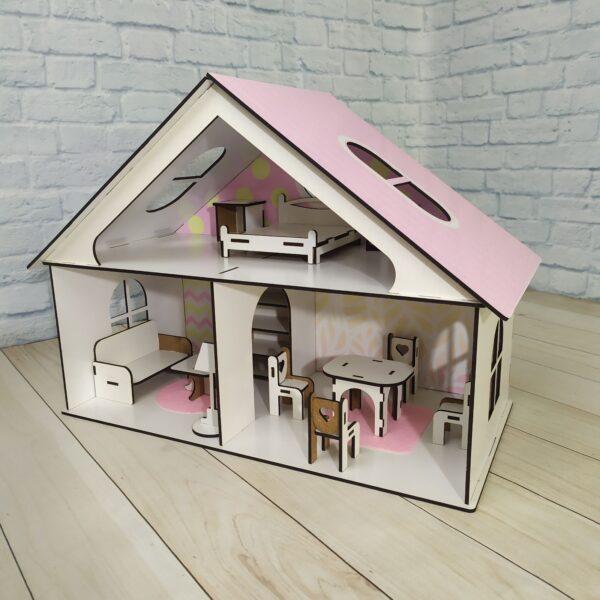 Кукольный домик Усадьба с мебелью Люкс 1