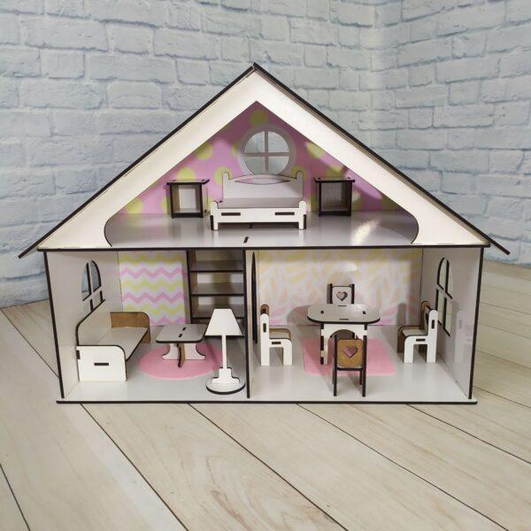 Кукольный домик Усадьба с мебелью Люкс 2