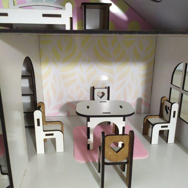Кукольный домик Усадьба с мебелью Люкс 4