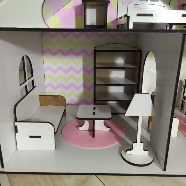 Кукольный домик Усадьба с мебелью Люкс 5