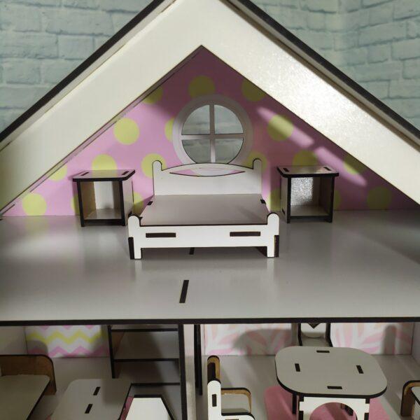 Кукольный домик Усадьба с мебелью Люкс 6