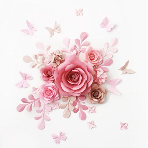 Цветок бумага 1_