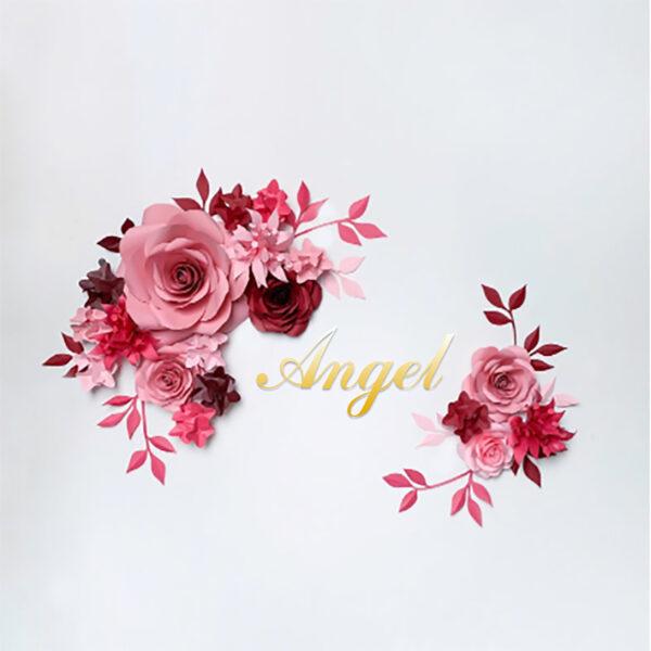 Цветок бумага 2